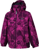 Color Kids Gefütterte Winter-Jacke KONROD Air-flo 5.000 berry 104164-409