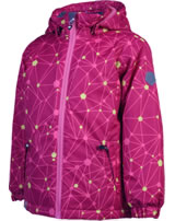 Color Kids Gefütterte Winter-Jacke KONROD rasberry 103770-443