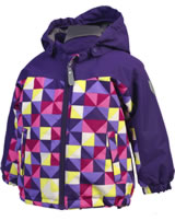 Color Kids Gefütterte Winter-Jacke KURT violet indigo 103741-04178