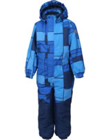 Color Kids Schnee-Overall KLEMENT Air-flo 10.000 blue sea 104091-1151