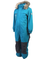 Color Kids Schnee-Overall PLAY KITO deep lagoon petrol 103748-02146