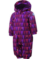 Color Kids Schnee-Overall RIMAH MINI dark purple 103412-04162