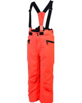 Color Kids Ski-Hose SANGLO fiery coral neon orange103783-04151