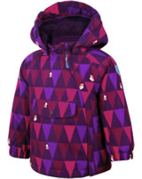 Color Kids Veste de neige RAIDONI MINI FOXES dark purple 103413-04162
