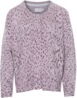 Creamie Kinder-Strickjacke LEO purple mauve 834864-563