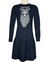 Danefae Dress long sleeves WINGED FREJA navy 11212-3187