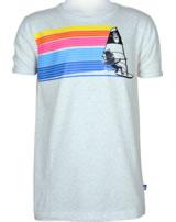 Danefae Kinder-T-Shirt Kurzarm BASIC WIKINGER light grey WINDBOW 10256-7092