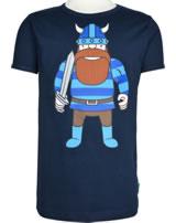 Danefae Kinder-T-Shirt Kurzarm BASIC SS X ERIK navy 30104-2042