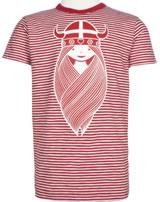 Danefae Kinder-T-Shirt Kurzarm BEETROOT TEE FREJA red/chalk 70139-3299