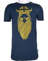 Danefae Kinder-T-Shirt Kurzarm FREJA BASIC navy 10256-3054