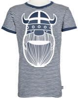 Danefae Kinder-T-Shirt Kurzarm MERIAN TEE ERIK cold slate/chalk 70142-3236