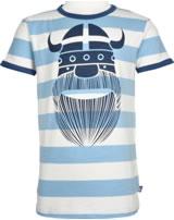 Danefae Kinder-T-Shirt Kurzarm MERIAN TEE ERIK ice blue/chalk 70142-3255