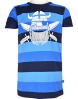 Danefae Kinder-T-Shirt Kurzarm RAINBOW RINGER sea canyon 10863-3012