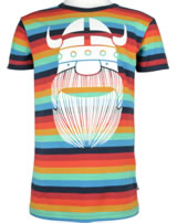 Danefae Kinder-T-Shirt Kurzarm RAINBOW RINGER spectrum 10863-3070