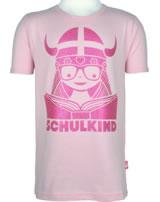 Danefae Kinder-T-Shirt Kurzarm SCHULKIND FREJA cute pink 11657-9167