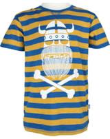 Danefae Kinder-T-Shirt Kurzarm SLOPPY JOE light amber/proud blue 10638-3083
