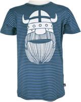 Danefae Kinder-T-Shirt Kurzarm SLOPPY JOE navy/trimid blue 10638-3009