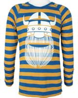 Danefae Kinder-T-Shirt Langarm BIG JOE light amber/proud blue 11098-3003