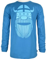 Danefae Kinder-T-Shirt Langarm ERIK BASIC timid blue 11454-3076