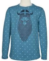 Danefae Kinder-T-Shirt Langarm FREJA tourmaline/chalk 70143-3116