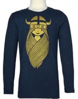 Danefae Kinder-T-Shirt Langarm NOOS TWEETY TEE FREJA navy 11430-2607