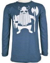 Danefae Kinder-T-Shirt Langarm RAASKAEG BASIC navy/timid blue 11454-3009