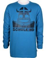 Danefae Kinder-T-Shirt Langarm SCHULKIND ERIK timid blue 11656-3016
