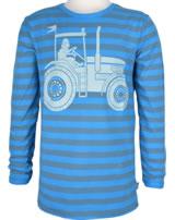 Danefae Kinder-T-Shirt Langarm SOPHUS TEE grey blue/timid blue 11473-3040
