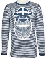 Danefae Kinder-T-Shirt Langarm SPIRE TEE ERIK cold slate/chalk 70141-3236
