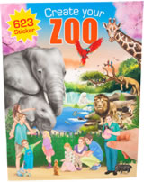 Depesche Malbuch / Bastelbuch Create your Zoo
