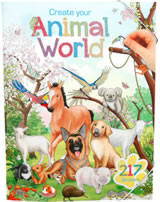 Depesche Malbuch Create your Animal World