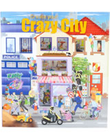 Depesche livre à colorier Create your Crazy City
