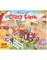 Depesche Malbuch/Stickerbuch Create your Farm