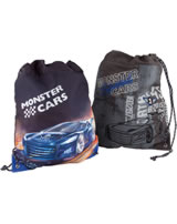 Monster Cars Matchbag/Turnbeutel