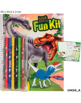 DINO WORLD Fun-Kit colouring book 10626/A
