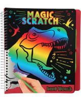 DINO WORLD Malbuch Magic Scratch T-Rex
