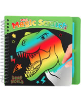 DINO WORLD Malbuch Mini Magic Scratch