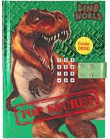 DINO WORLD Tagebuch mit Geheimcode und Sound