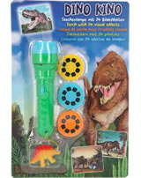 DINO WORLD Torch with 24 visual effects green