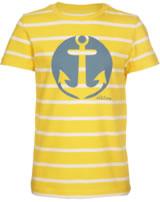 Elkline Kinder T-Shirt Kurzarm HANNES lemon-white3041136-451150