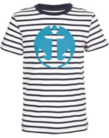 Elkline Kinder T-Shirt Kurzarm HANNES white-blueshadow 3041136-150212