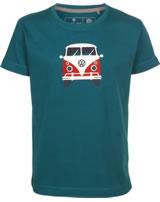 Elkline Kinder T-Shirt Kurzarm TEEINS Bulli blue coral 3041163-253000
