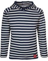 Elkline Kinder T-Shirt m. Kapuze Langarm CREW blueshadow/white 3040070-212150