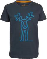 Elkline T-Shirt Kurzarm RUDÖLFCHEN darkblue-mykonos 3041136-219247