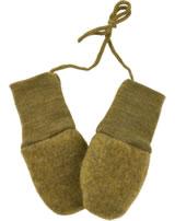 Engel Fleece Mittens of wool safran melange 575570-018E