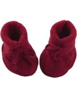 Baby shoes with lacing fleece IVN BEST red melange 575582-060