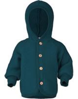 Engel Children Hooded jacket petrol melange 575520-36 IVN-BEST