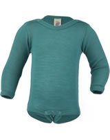 Engel Bodysuit turquoise 709030-35 GOTS