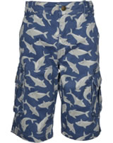 Frugi Explorer Shorts Scilly Shark School SHS951SCS