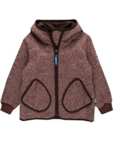 Finkid Zwergen Wind-Jacke Zip In TONTTU WIND choco mel. 3023052-434430